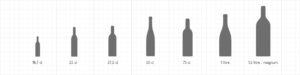 Formats bouteilles