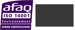 logo afnor iso14001