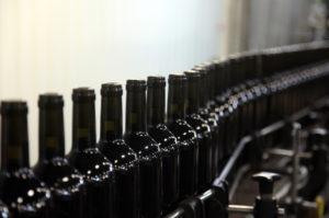 Chaine de bouteille ligne
