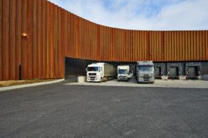 Entrepôt camion Sicsoe