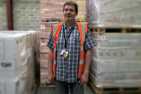 Christophe Passebon: le visage de la logistique vin