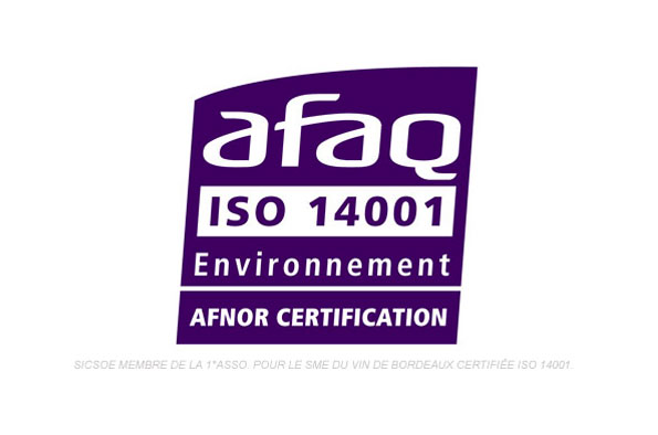 ISO 14001: first certified wine supplier, why?