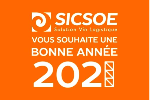SICSOE vous souhaite une bonne année 2021 !